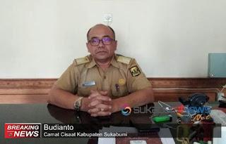 Camat Cisaat Budianto