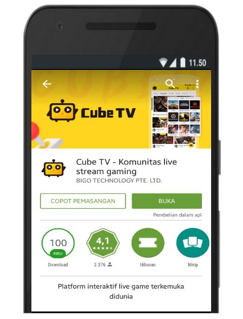 Fungsi Coins di Cube TV