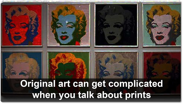 Originality in Andy Warhol art