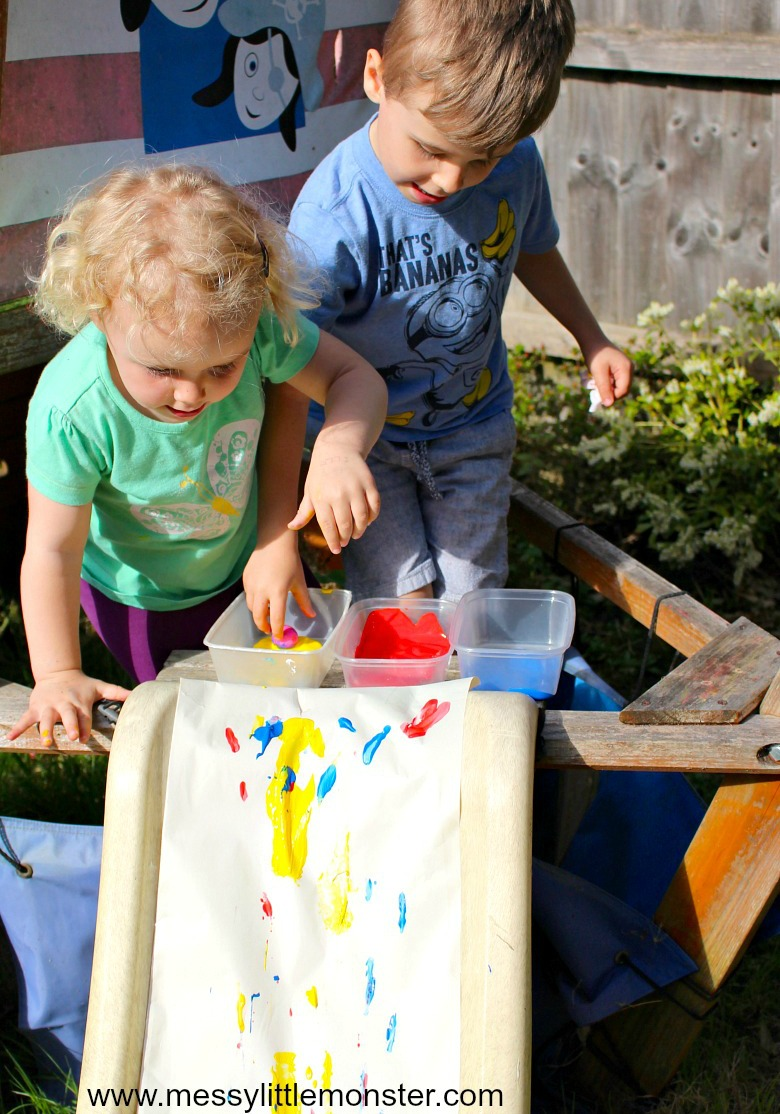 fun process art for preschool and toddlers