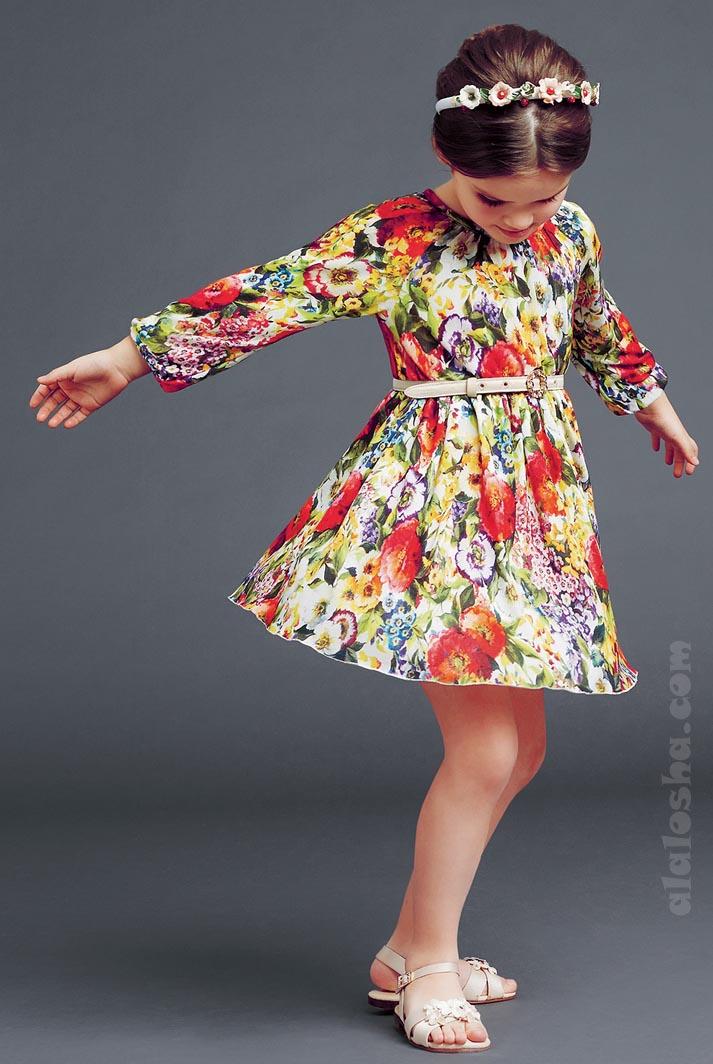 Dolce&Gabbana Luxury Girlswear FW14/15