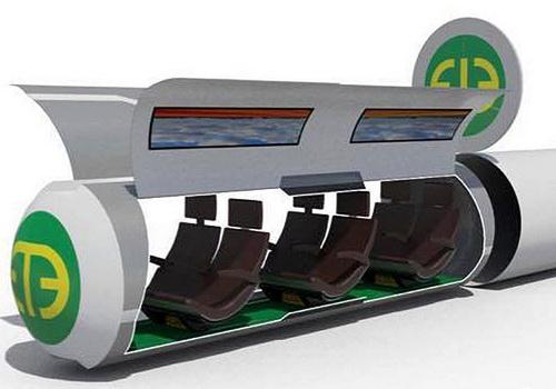 www.Tinuku.com Hyper Chariot pods run 6500 km per hour