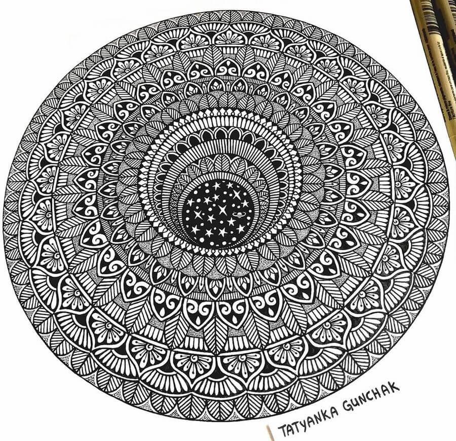 Mandala and universe by T. Gunchak