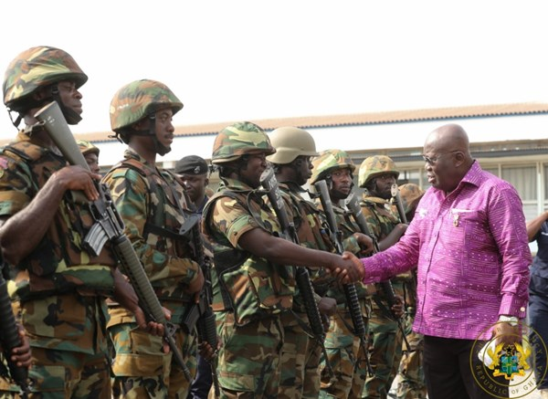 New Appointments In The Ghana Armed Forces