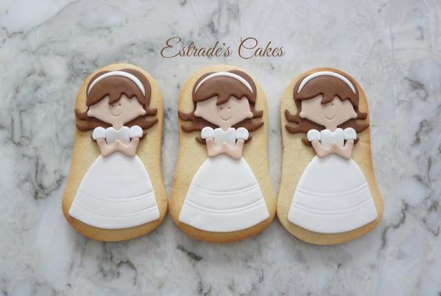 galletas de niñas de primera comunión 1
