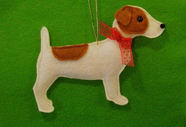 keçeden köpek yapımı