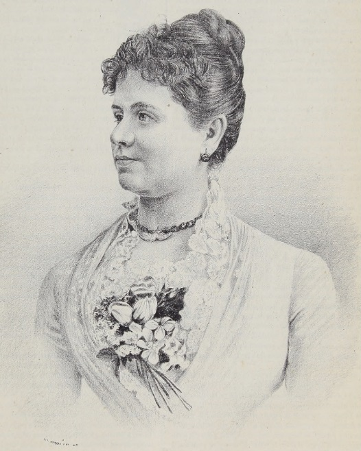 Emilia Villacampa (El Álbum de la Mujer, 13/2/1887)