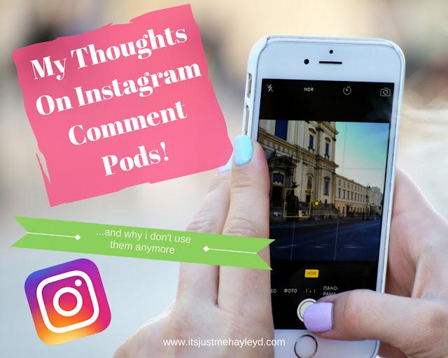 Instagram Comment Pods