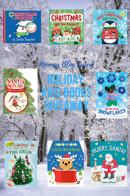 Christmas Holiday Kids Board Book Giveaway
