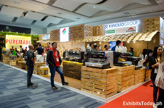 Rancilio Group Exhibition Stand