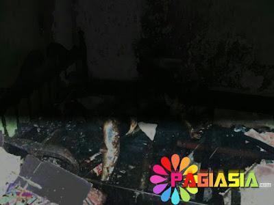 Seorang Pensiunan PNS Menderita Tuna Netra Tewas Terbakar di Ruang Tamu Rumahnya