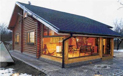wood style house 02