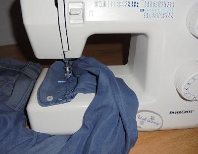 Adzik tworzy - DIY skracanie rękawów koszuli