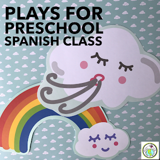 Plays for Preschool Spanish Class that Can be Done Outdoors