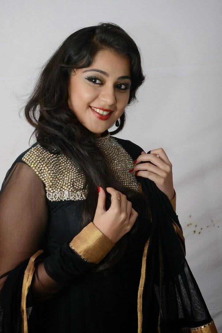 Krathi photo gallery in black salwar kameez