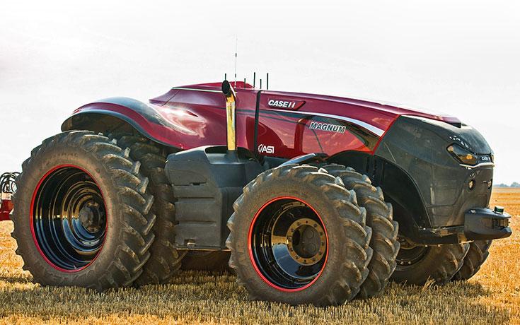 Το αυτόνομο τρακτέρ φέρνει την επανάσταση στη γεωργία