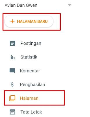 Cara membuat blog untuk mendaftar adsense
