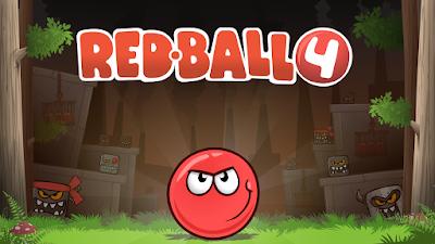 تحميل لعبة red ball 4  للاندرويد