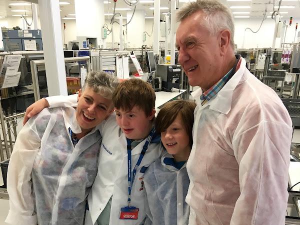 Ben joins Harvey's Gang at NHSBT Filton