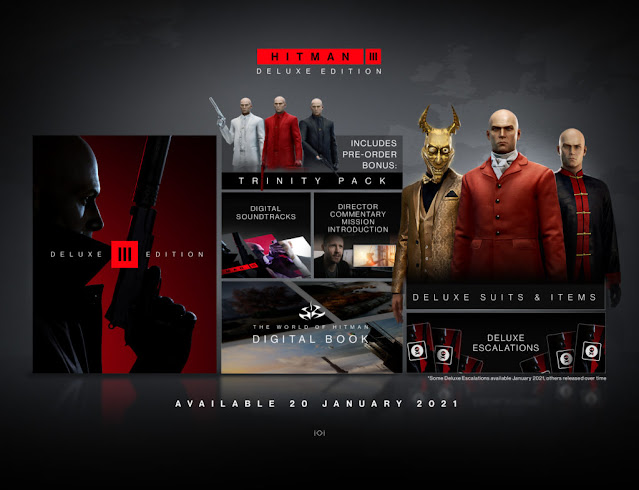 Deluxe Edition of Hitman 3