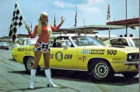 Just a car guy pace car for the 1971 dixie 500 a convertible 71