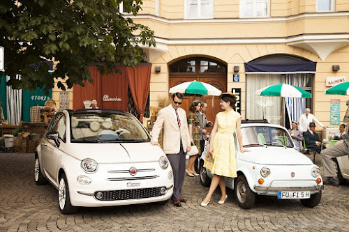 Fiat 500 Modern and Classic