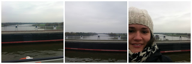 Wasserbrücke em Magdeburg, Alemanha