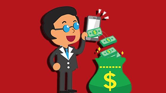 كسب المال عبر الإنترنت بسرعة