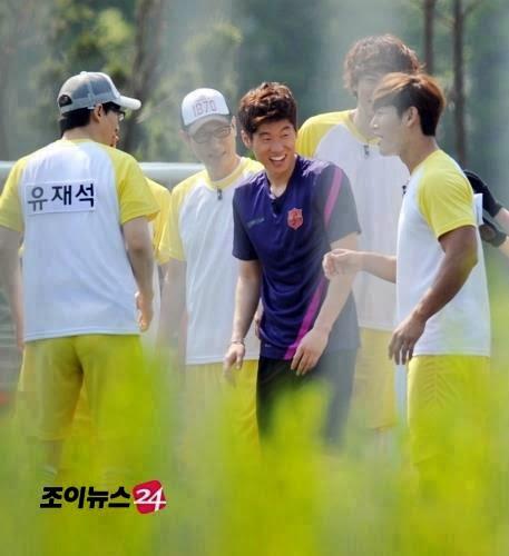 RUNNING MAN INFO & NEWS: IU AND PARK JI SUNG JOIN IN RUNNING