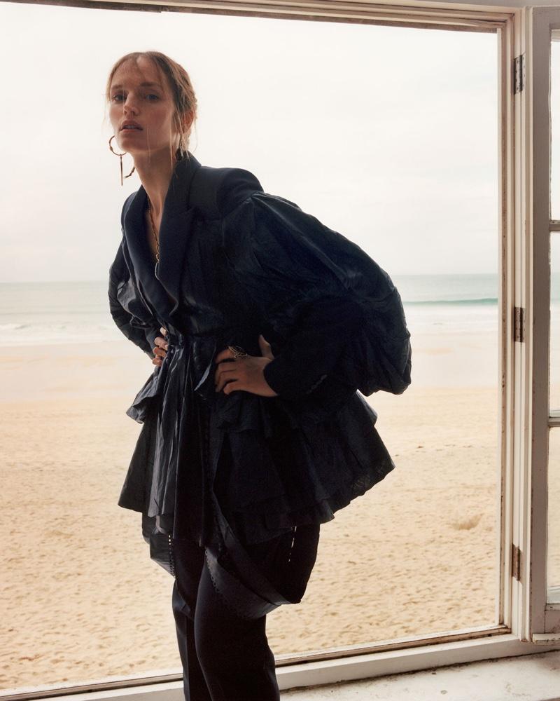 Vivien Solari fronts Alexander McQueen spring-summer 2020 campaign