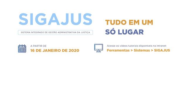 Resultado de imagem para TJRN: TUDO EM UM SÓ LUGAR: NOVO SISTEMA DE GESTÃO, SIGAJUS COMEÇA A OPERAR DIA 16 DE JANEIRO
