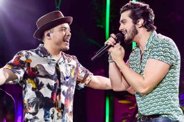 """Luan Santana e Wesley Safadão preparam """"live junina"""" em Campina Grande"""