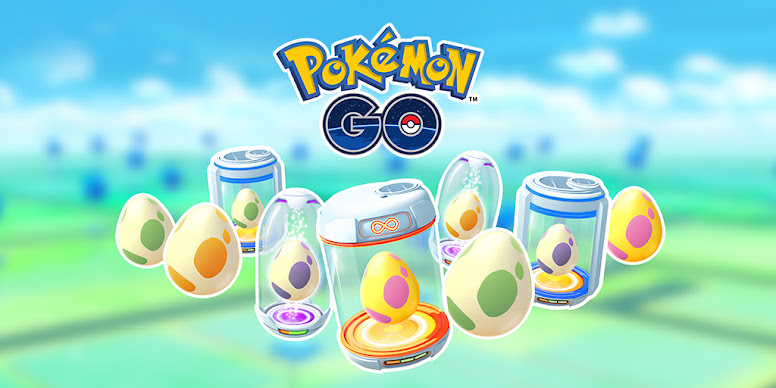 Ovos Pokémon GO