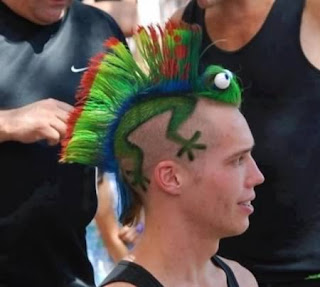 7 Tato Rambut Paling Unik Di Dunia