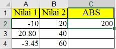 Fungsi Matematika dan Pengolah Angka Pada Mic.Excell 2016