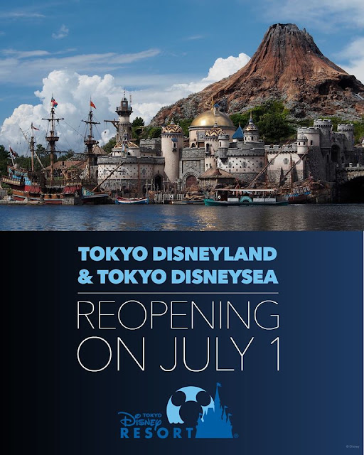 Disney, Disney Parks, Reopen, It's time for Magic, 重開, Believe in Magic, 東京迪士尼樂園, 東京迪士尼海洋, Tokyo Disneyland, Tokyo DisneySEA