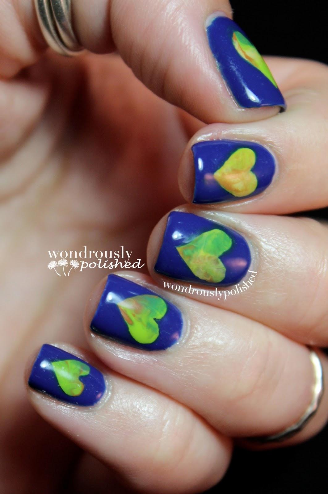 Wondrously Polished April Nail Art Challenge: Wondrously Polished: Earth Day