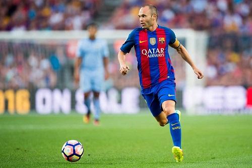 Iniesta không đóng góp được nhiều bàn thắng cho Barca
