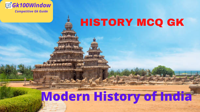 Modern Indian history  gk questions for SSC CGL: History mcq gk for ssc wbcs upsc prelims exams