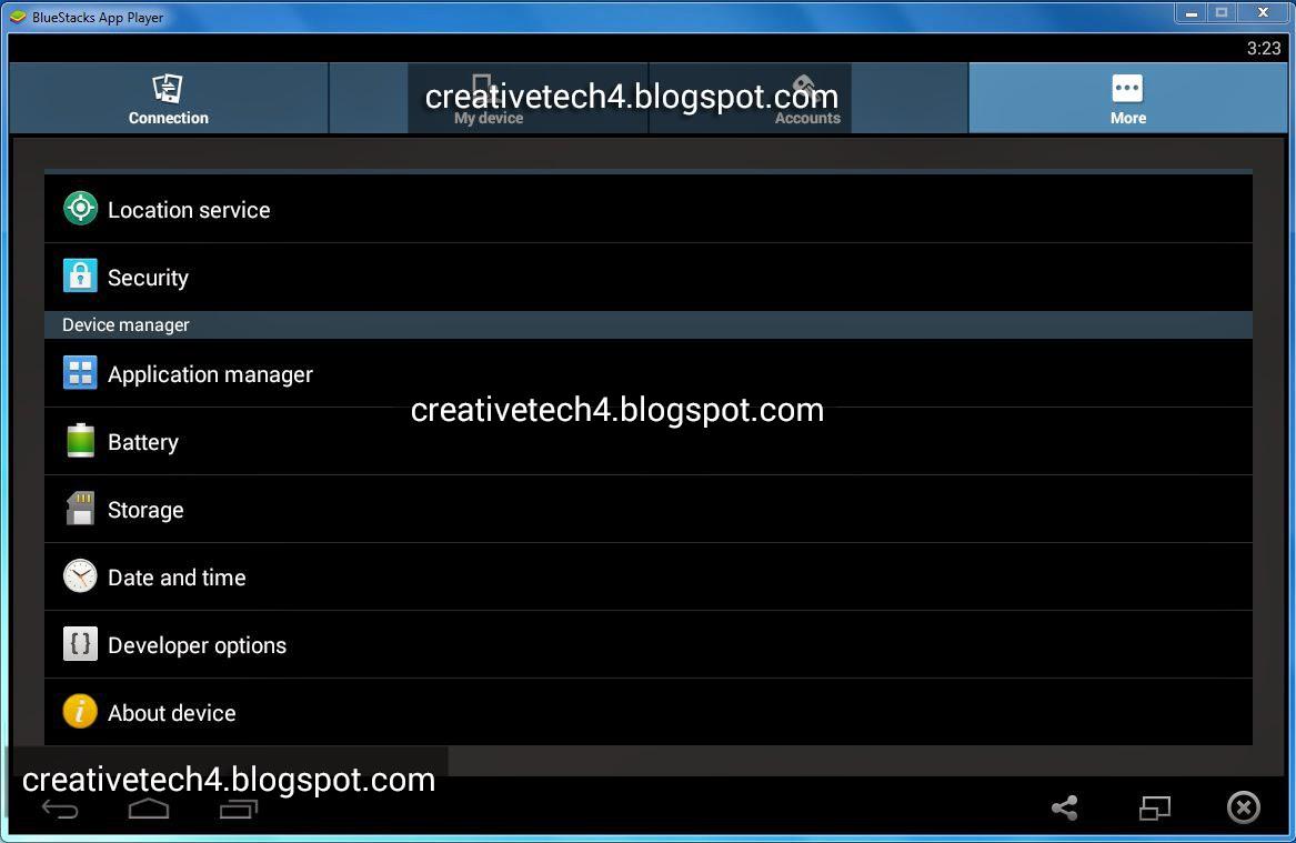 BlueStacks App Player 0 9 11 4119 Rooted Offline setup