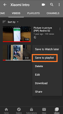xiaomiintro youtube playlist
