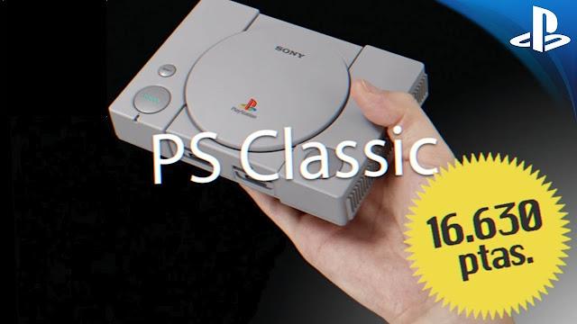 Sony anuncia la PlayStation Classic pagando en pesetas