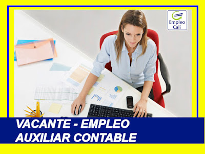 Oferta de Trabajo y Empleo en Cali como Operario, auxiliar contable y mas