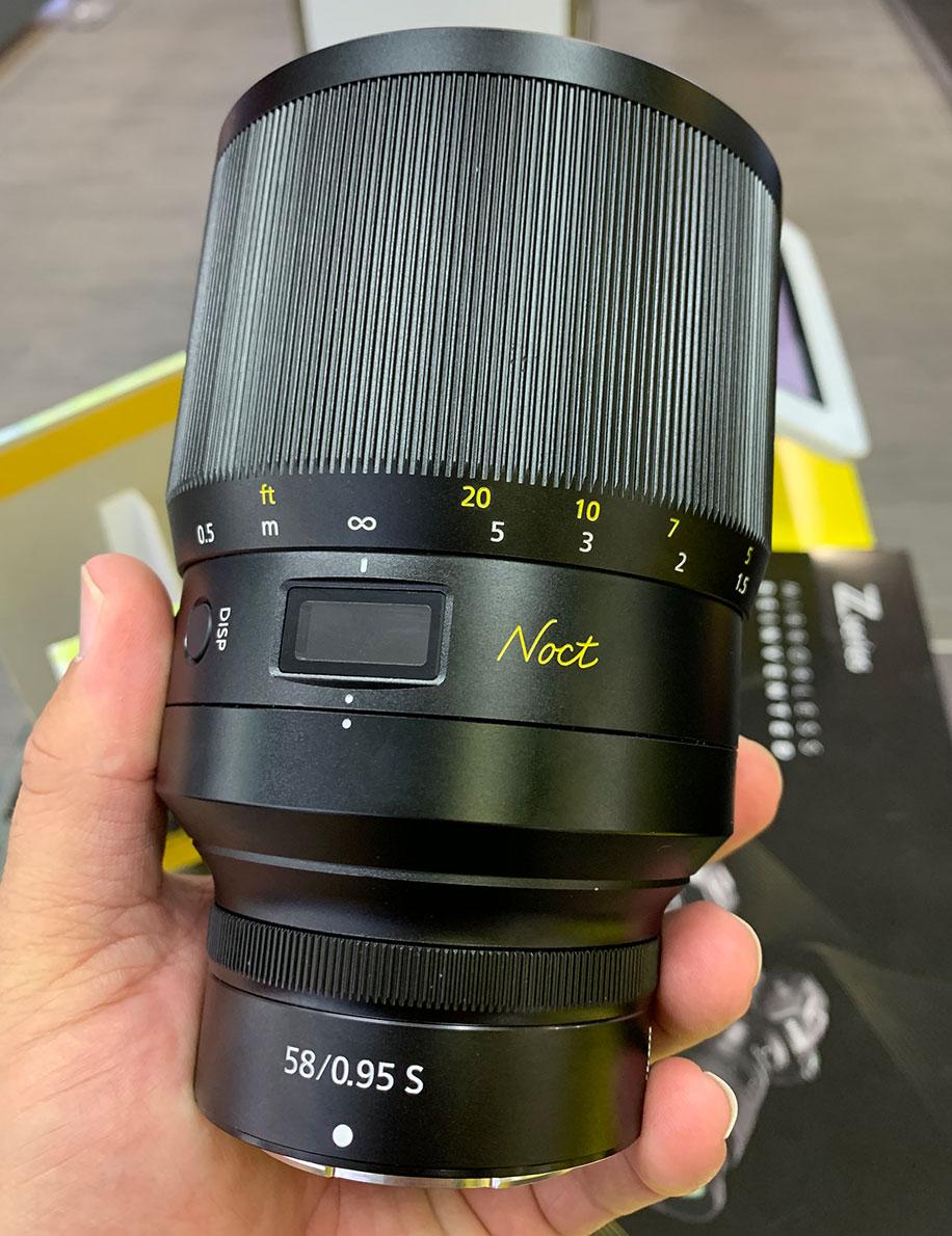 Nikon Z-Nikkor Noct 58mm f/0.95