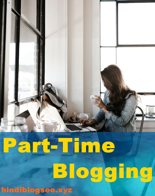 Part Time Blogging
