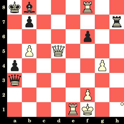 Les Blancs jouent et matent en 4 coups - Evgeni Vassiukov vs David Bronstein, Bakou, 1961