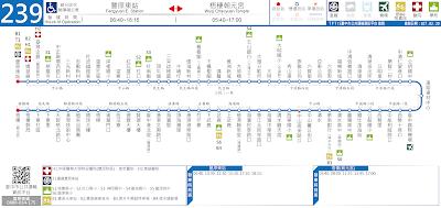 豐原客運239路 豐原東站-清水-梧棲朝元宮