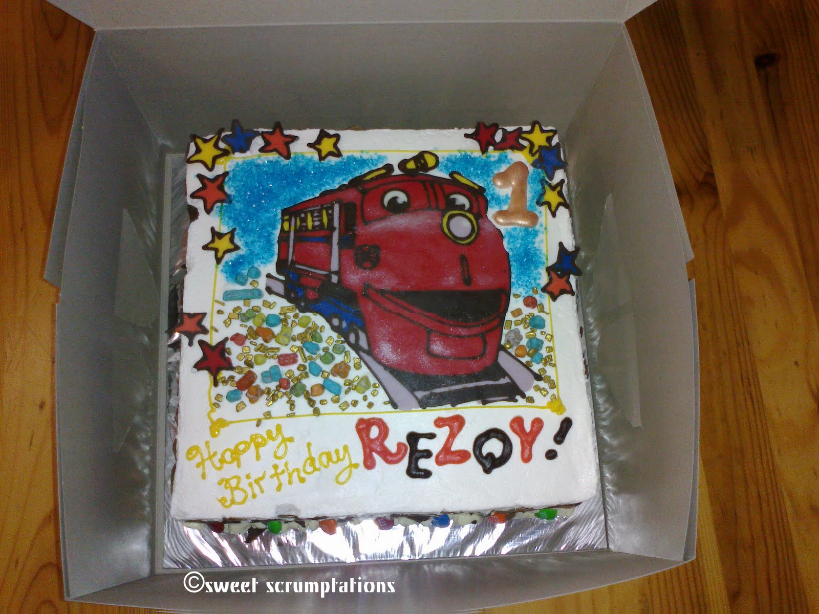 Chuggington Cake Ideas And Designs