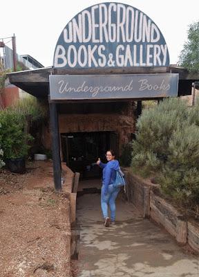 underground library coober pedy