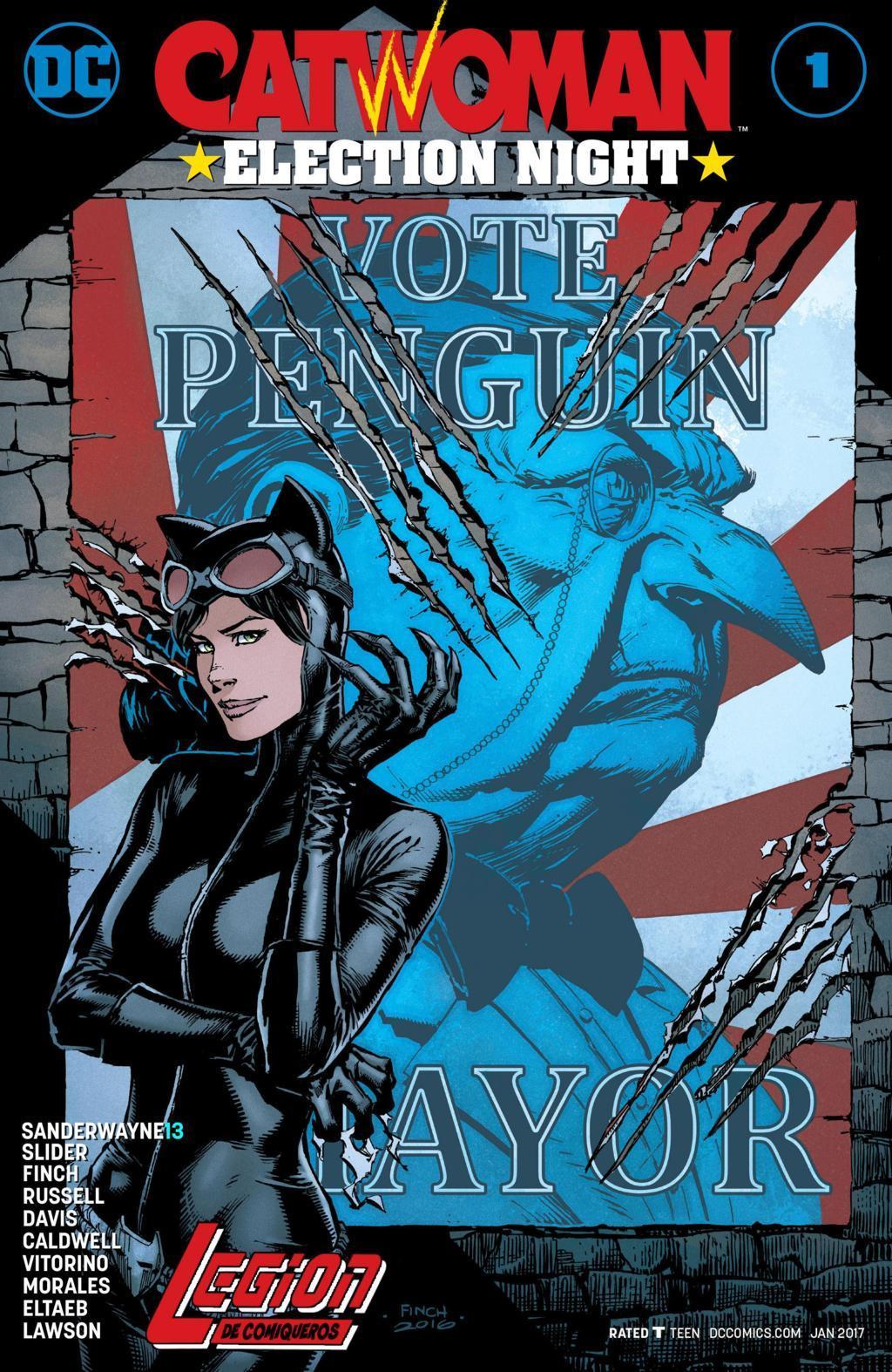Catwoman - Noche de Eleccion